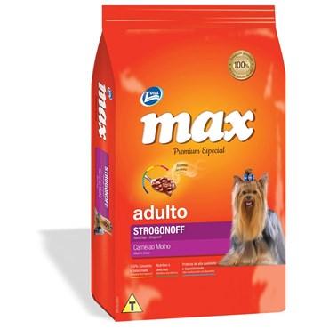 Ração Max Premium Especial Cães Adultos Sabor Strogonoff 15kg