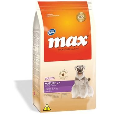 Ração Max Professional Line Cães Mature Sabor Frango e Arroz 15kg