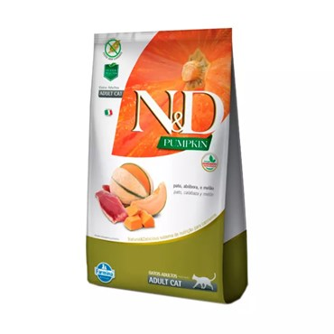 Ração N&D Pumpkin Para Gatos Adultos Sabor Pato