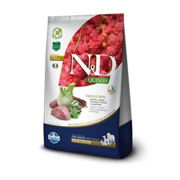 Ração N&D Quinoa Digestion Para Cães Adultos Sabor Cordeiro