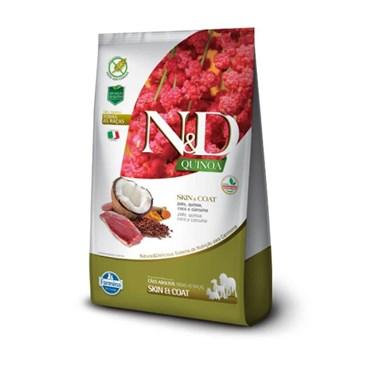 Ração N&D Quinoa Skin & Coat Para Cães Adultos Sabor Pato
