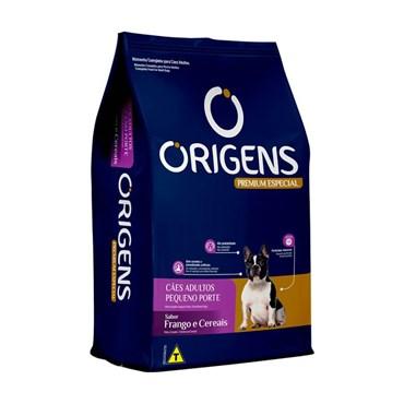 Ração Origens para Cães Adultos de Pequeno Porte Sabor Frango e Cereais 3kg