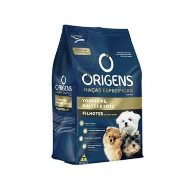 Ração Origens Raças Específicas Yorkshire, Maltês e Spitz para Cães Filhotes 1kg