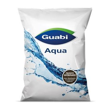 Ração Para Peixe Aqua Acabamento 6-7mm Extrusada 25 Kg - Guabi