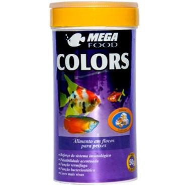 Ração para Peixes Mega Food Colors 50 g