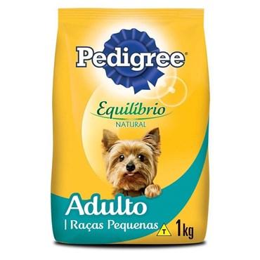 Ração Pedigree Equilíbrio Natural para Cães Adultos de Raças Pequenas e Minis