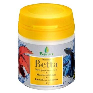Ração Poytara Premium para Peixes Betta 14g