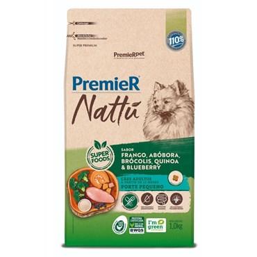 Ração Premier Nattu Para Cães Adultos de Pequeno Porte Sabor Abóbora