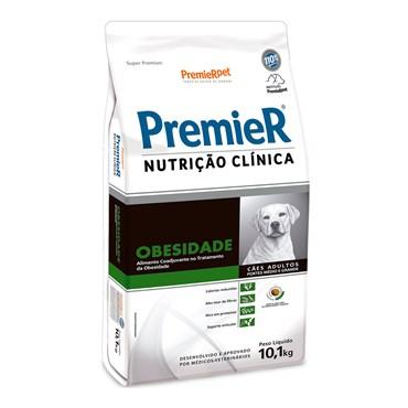 Ração Premier Nutrição Clínica Obesidade para Cães Adultos de raças Médias e Grandes 10,1kg