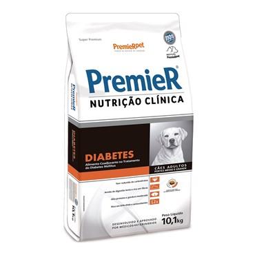 Ração Premier Nutrição Clínica para Cães com Diabetes de Raças Médias e Grandes 10,1kg