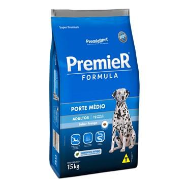 Ração Premier para Cães Adultos de Raças Médias sabor Frango