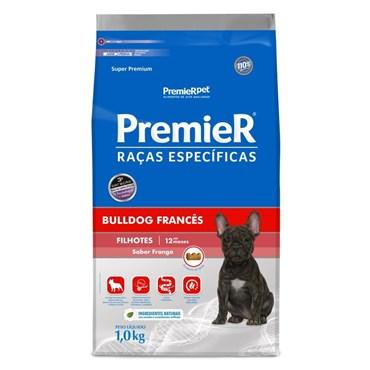 Ração Premier para Cães Filhotes Raças Específicas Bulldog Francês Sabor Frango