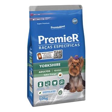 Ração Premier Raças Específicas Yorkshire para Cães Adultos Sabor Frango