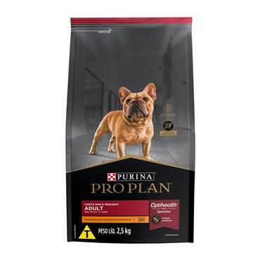 Ração Purina Pro Plan para Cães Adultos Minis e Pequenos Frango 2,5 kg