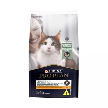 Ração Purina Pro Plan para Gatos Adultos Sabor Frango 1 kg