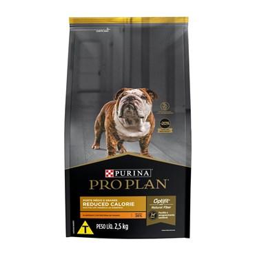 Ração Purina Pro Plan Reduced Calorie para Cães Adultos Médios e Grandes Frango