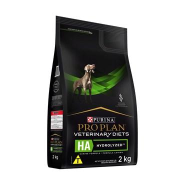 Ração Purina Pro Plan Veterinary Diets HA Hydrolized para Cães Adultos 2 kg