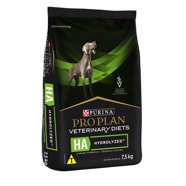 Ração Purina Pro Plan Veterinary Diets HA Hydrolized para Cães Adultos 7,5 kg