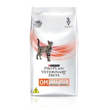 Ração Purina Pro Plan Veterinary Diets OM para Gatos Obesos 1,5 kg