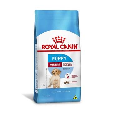 Ração Royal Canin Medium Puppy Para Cães Filhotes de 2 a 12 Meses