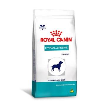 Ração Royal Canin Vet Diet Hypoallergenic Redução das Sensibilidades Alimentares
