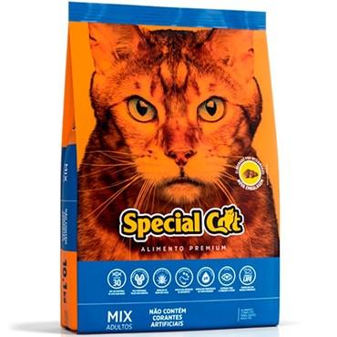 Ração Special Cat Mix Premium Para Gatos Adultos