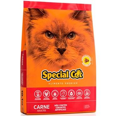 Ração Special Cat Premium Para Gatos Adultos Sabor Carne