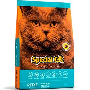 Ração Special Cat Premium Para Gatos Adultos Sabor Peixe