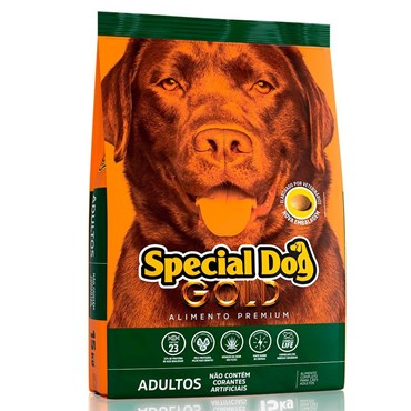 Ração Special Dog Gold Premium Para Cães Adultos