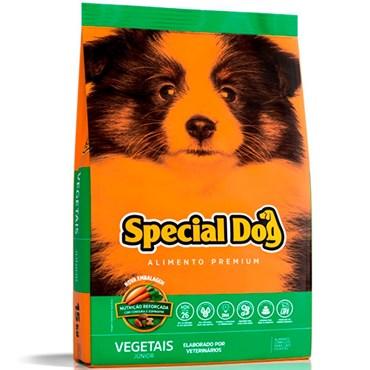 Ração Special Dog Junior Para Cães Filhotes Sabor Vegetais