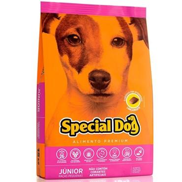 Ração Special Dog Junior Premium Cães Filhotes Raças Pequenas