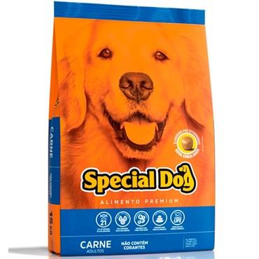 Ração Special Dog Premium Para Cães Adultos Sabor Carne