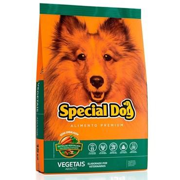 Ração Special Dog Premium Para Cães Adultos Sabor Vegetais