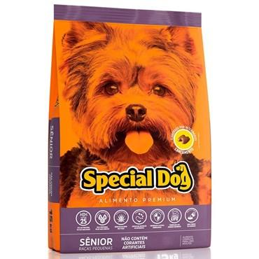 Ração Special Dog Premium Para Cães Sênior Raças Pequenas