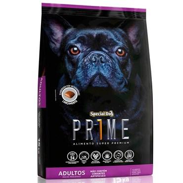 Ração Special Dog Prime Para Cães Adultos Raças Pequenas