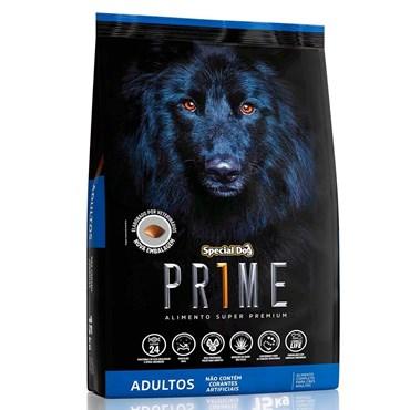 Ração Special Dog Prime Para Cães Adultos Sabor Carne