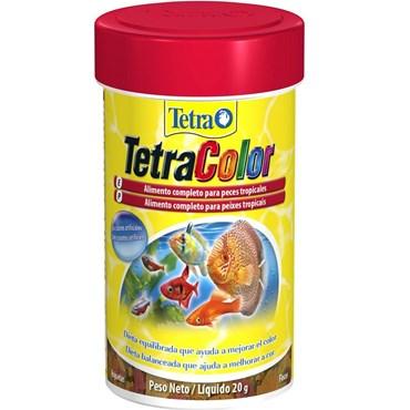 Ração Tetra Color Flakes para Peixes 20 g