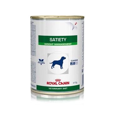 Ração Úmida Royal Canin Vet Diet Canine Satiety Lata