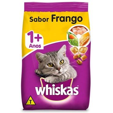 Ração Whiskas Sabor Frango para Gatos Adultos