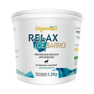 Relaxante Muscular Relax Ice Barro para Equinos Organnact