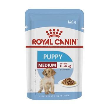 Royal Canin Sachê Medium Para Cães Filhotes 140 g