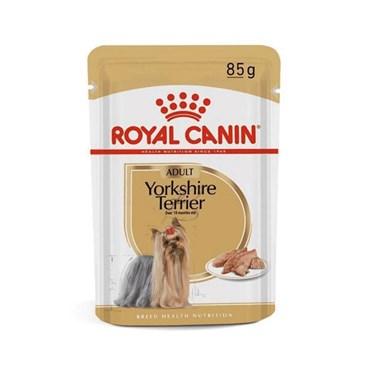 Royal Canin Sachê Para Yorkshire Terrier Adultos Pelagem Saudável 85 g