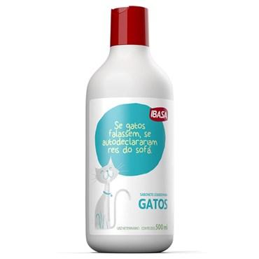 Sabonete Líquido Ibasa para Gatos 500ml