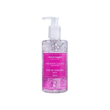 Sabonete Líquido Para as Mãos Flor de Cerejeira 250ml - Aromagia