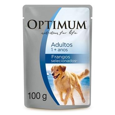 Sachê Alimento Úmido Optimum para Cães Adultos 100 g