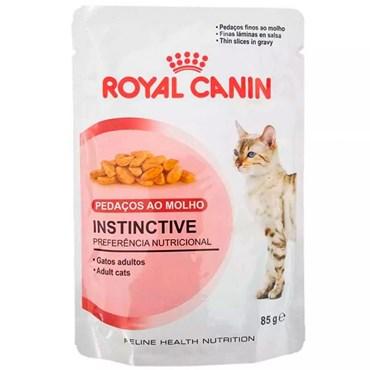 Sachê Royal Canin Cat Instinctive para Gatos Adultos  85g