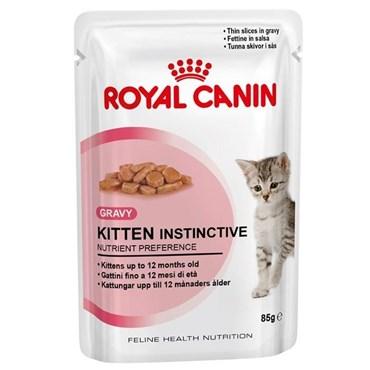 Sachê Royal Canin Cat Kitten Instinctive para Gatos Filhotes 85gr