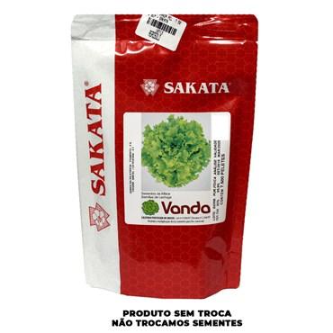 Semente de Alface Vanda Peletizada Pigmento 5% - Sakata
