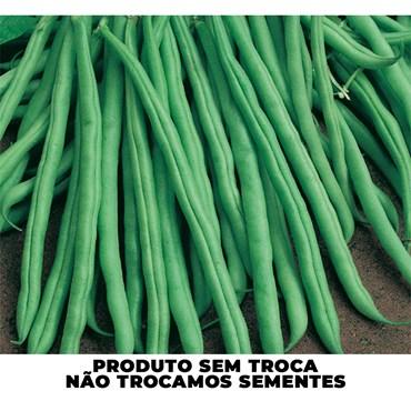 Semente de Feijão Vagem Macarrão Rasteiro 100g - TopSeed