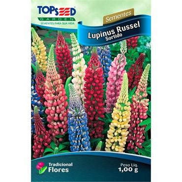 Semente de Lupinus Russel Sortido 1,00g  TOPSEED